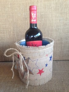 red white blue photo 5 wine cooler
