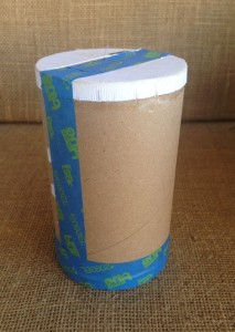 red white blue photo 6 salt container with tape