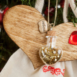Handcrafted Heart of Gold Ornament