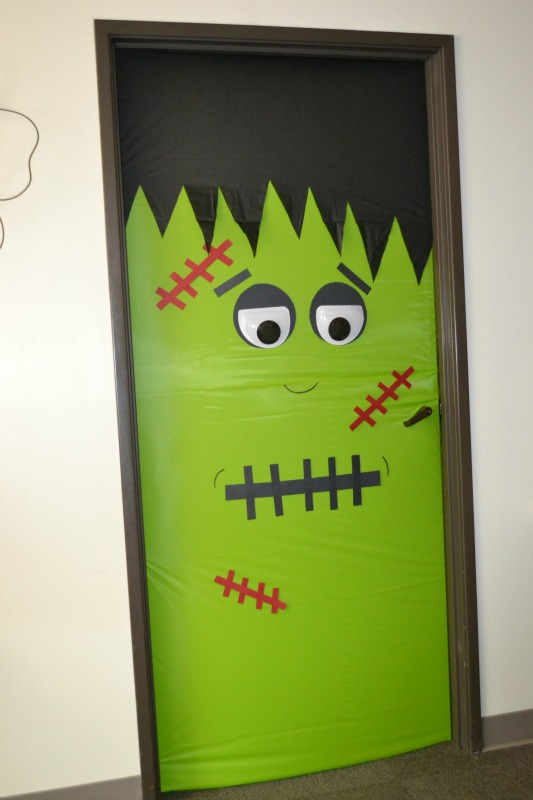 Frankenstein Monster Door Door2 & Decorated Monster Doors | Childrenu0027s Books | Play Kits | Play Create ...