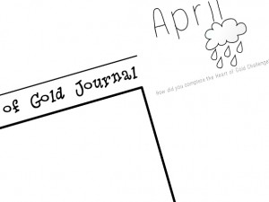 April Journal Preview