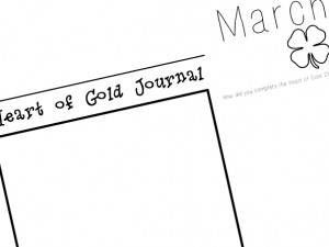 March Journal Preview